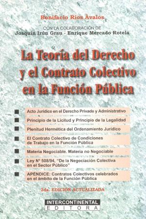 La teoría del derecho y el contrato colectivo en la función pública